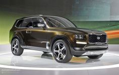 The Kia Telluride 2019 Concept Club Tops, Sweet Cars, Top Gear, Concept Cars, Specs, Dream Cars, Engine, Wheels, Sketches