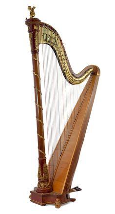 Sebastien Erard empire harp, 1913.