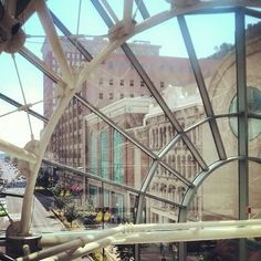 The beautiful view at the Artsgarden.