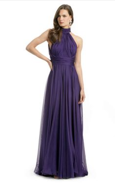 Badgley Mischka purple gown  Wore at Kaitlyn's Wedding  I love this dress