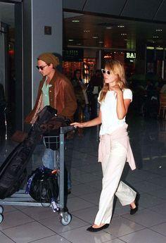 Johnny Depp et Kate Moss London 1995