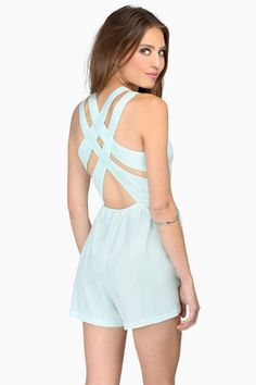 Sweet Symmetry Romper