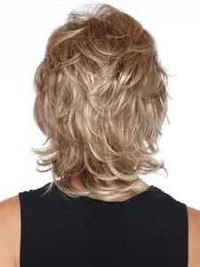 Image result for Medium Shag Haircut Back View