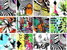 Graphique Bureau's Textile PrintArt - Textile Blog - | Trends | Style | Innovation | Technology | Textilepedia - The Textile Encyclopedia