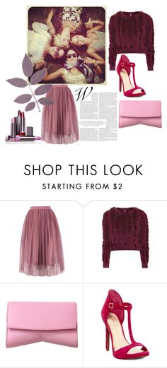 """purple"" by zozanazozane ❤ liked on Polyvore featuring Topshop, Narciso Rodriguez and Jessica Simpson"