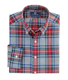 Shop+Windsor+Club+Plaid+Slim+Murray+Shirt+at+vineyard+vines