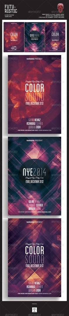Futuristic Flyer Templates - Events Flyers