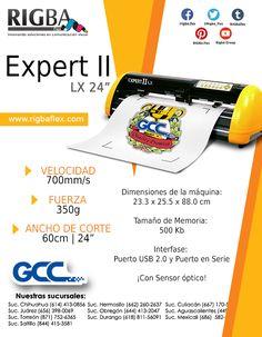Expert LX II, el equipo profesional con excelente rendimiento para producciones de gran volumen y excelente calidad. Innovative Products