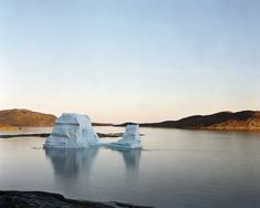 "'Iceberg Rodebay 2, 07/2003, 69° 22'16"" N, 50° 54'08"" W.' © Olaf Otto Becker. Image courtesy of Huxley-Parlour Gallery."
