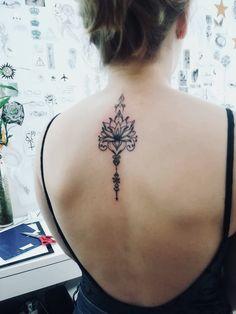 Tatuagem flor de lotus