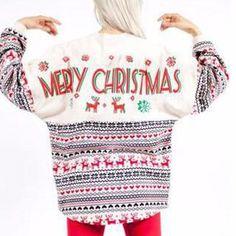 Oversized Sweatshirt Merry Christmas Women Autumn And Winter Long Sleeve Hoodie Sweatshirt Moleton Feminino Streetwear Clothes Christmas Dress Women, Ugly Christmas Sweater Women, Christmas Sweaters, Christmas Tops, Christmas Clothes, Holiday Sweater, Christmas Ideas, Printed Sweatshirts, Hoodies