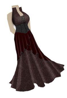 Jacquard Cincher dress