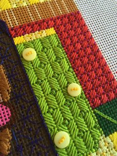 Needlepoint is changing and evolving.  We're using new threads and different stitches.  It's Not Your Grandmother's Needlepoint anymore!  Welcome to my vision of today's needlepoint.