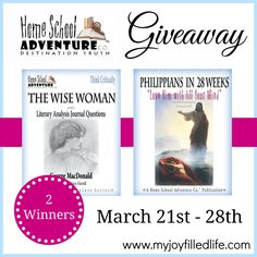 Home School Adventure Co. {Blog Birthday Giveaway} - My Joy-Filled Life