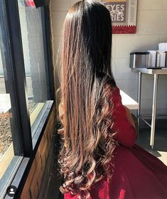We Love Rapunzel Hair Long Silky Hair, Long Wavy Hair, Very Long Hair, Curled Hairstyles, Pretty Hairstyles, Girl Hairstyles, Beautiful Long Hair, Gorgeous Hair, Rapunzel Hair