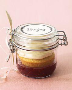 Dessert in a jar.