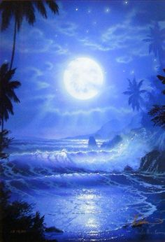 "Limited Edition Print ""Maui Blue"" by Christian Riese Lassen"