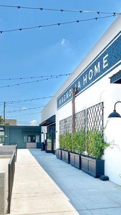 Magnolia Market, Magnolia Homes, Furniture Showroom, New Furniture, Waco Tx, Back Deck, Fixer Upper, Front Porch, Amy