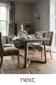 Next At Home, Next Uk, Extendable Dining Table, Dining Bench, Natural Wood, Art Deco, House Styles, Interior, Pine
