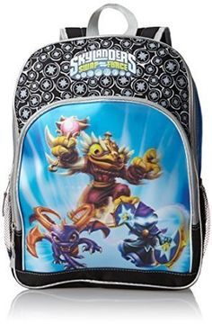 f6678bd456 FAB Starpoint Big Boys Skylanders 16 Inch 3D Lenticular Backpack by SMJAITD  ** Check out