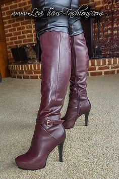 Thigh High Boots, High Heel Boots, Knee Boots, Heeled Boots, Tall Boots, Beige Boots, Brown Boots, Fashion Boots, Women's Fashion