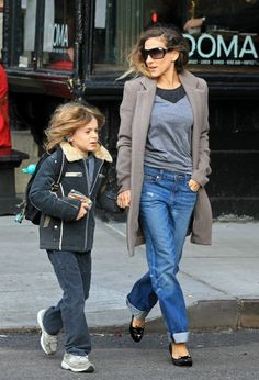 school run - SJP gets it right all the time