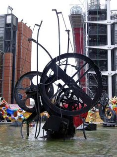 Jean Tinguely, The Stravinsky Foutain, 1983, Beaubourg, Paris
