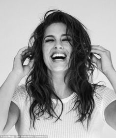 Ashley Graham in Glamour Iceland lingerie shoot to promote body ...