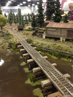 Pudding River Lumber Co. - Slough Trestle - On30 Modular RR by Kevin Spady