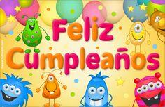 Ecard de muy feliz cumpleaños. Cumpleaños, ver tarjetas postales virtuales - TuParada.com