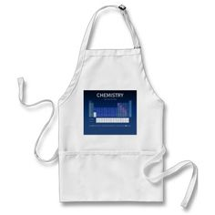 Periodic Table of the Elements Apron by Janz Apron
