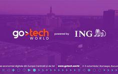 ING devine partenerul principal al GoTech World, evenimentul de business cunoscut anterior ca Internet & Mobile World Internet, Digital, Business, World, Movie Posters, Film Poster, Store, The World, Business Illustration