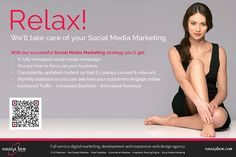 Relax, don't do it! Getting stressed out with your Social Media marketing? You may not have the time... but WE do!  #socialmedia #facebook #marketing