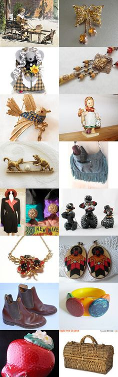 SPRING OUTING by loli on Etsy--Pinned+with+TreasuryPin.com