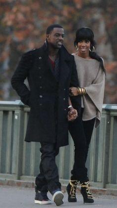Kelly Rowland and Lance Gross Black Love, My Black Is Beautiful, Black Men, Beautiful People, Black Couples, Couples In Love, Kelly Rowland Style, Afro, Black Families