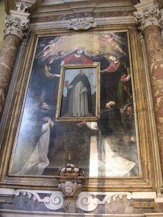 San marco, firenze, altare alfani poi martini dell'ala, san domenico in soriano, matteo rosselli 1640 - Category:San Marco (Florence) - Church interior - Wikimedia Commons