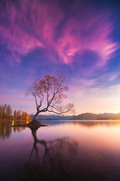 Lake Wanaka, New Zealand.