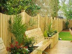 fence with bench