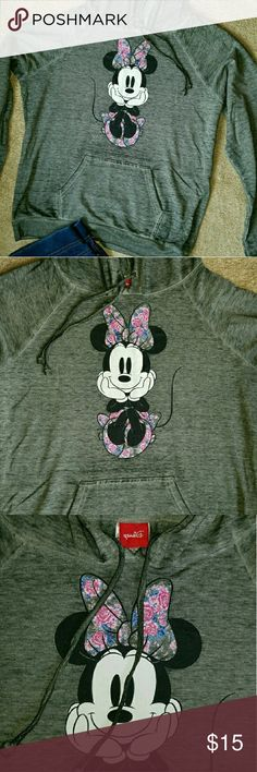 Minnie Mouse hoodie. Georgous adult minnie mouse hoodie/sweater. Brand New! You must feel it super soft and confy! Disney Sweaters