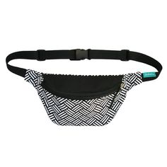 Hey, I found this really awesome Etsy listing at https://www.etsy.com/listing/249010397/black-and-white-fanny-pack-pkf-hip-bag