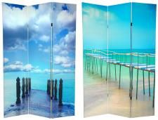 Excellent Beach Themed Office Beach Theme Room Divider Qdsc 8065 China Largest Home Design Picture Inspirations Pitcheantrous