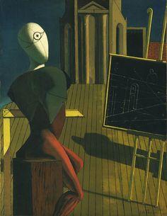 Giorgio De Chirico. The Seer. 1915.