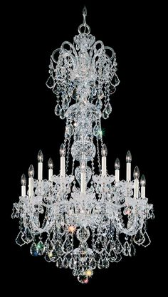 Schonbek 6817 Olde World 32 Inch Chandelier