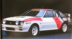 mitsubishi starion rally 4wd