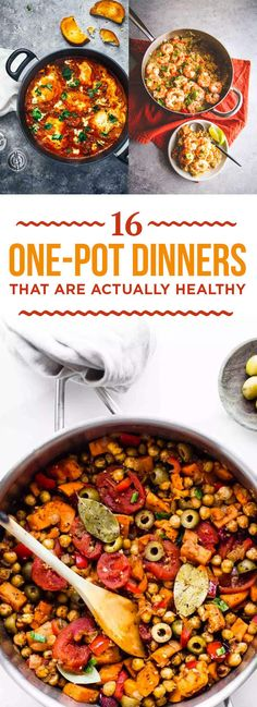 16 One-Pot Dinners That Are Actually Healthy
