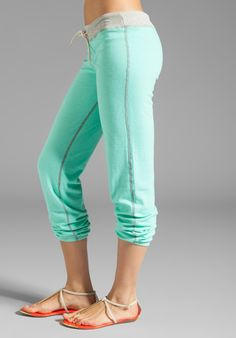 Monrow Vintage Sweatpants in Neon Mint at Revolve Clothing - Free Shipping!