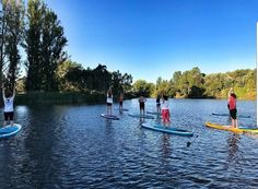 """Last Thursday was the end of the SUP yoga season with 🌊 teaching on water is one of…"""" Sup Yoga, Thursday, Let It Be, Seasons, Teaching, My Favorite Things, Water, Instagram, Gripe Water"""
