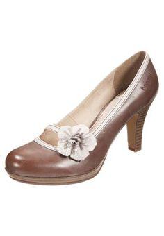 Zapatos de plataforma - taupe