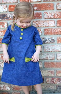 Bow Pocket Dress