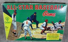 1966 Cadaco All-Star Baseball Game With 54 Discs #Cadaco